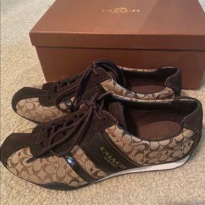 Coach sneaker. NEW!